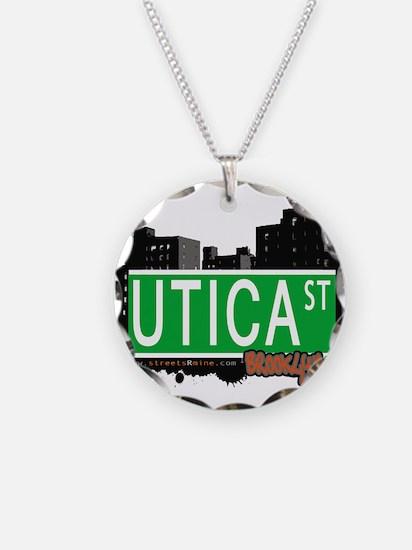 UTICA ST, BROOKLYN, NYC Necklace