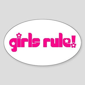 Girls Rule Sticker