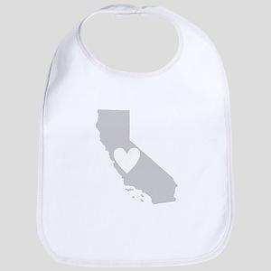 Heart California Bib