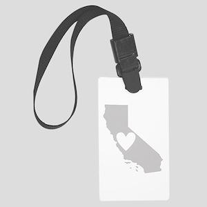 Heart California Large Luggage Tag