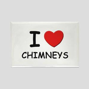 I love chimneys Rectangle Magnet
