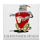 Lockwasher Design Tile Coaster