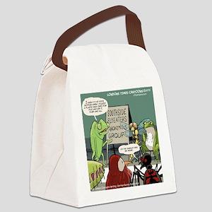 Bugs N Slugs Canvas Lunch Bag
