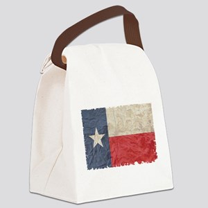 Texas Flag Canvas Lunch Bag