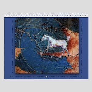 Horse Art Calendar Canyon Run cover