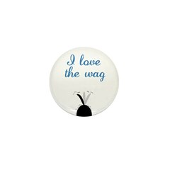 Love the Wag Mini Button (100 pack)