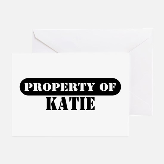 Property of Katie Greeting Cards (Pk of 10)
