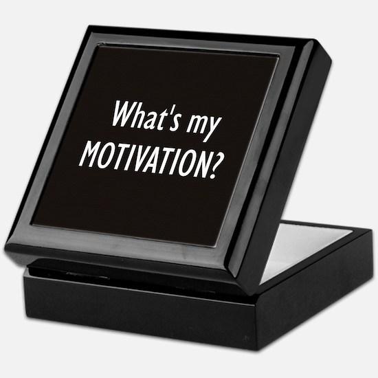 What's my MOTIVATION Keepsake Box