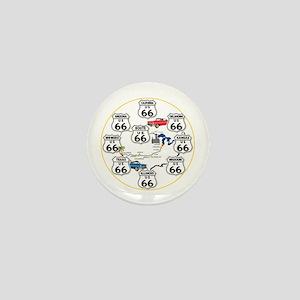 U.S. ROUTE 66 - All Routes Mini Button