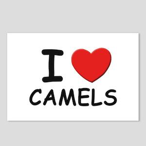 I love camels Postcards (Package of 8)
