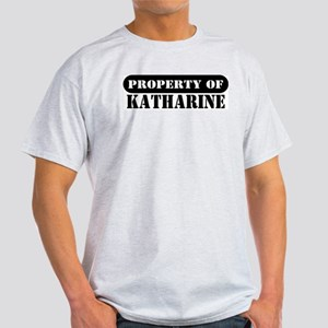 Property of Katharine Ash Grey T-Shirt