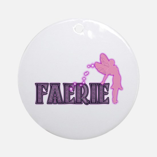 Faerie Ornament (Round)