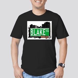 Blake Square, BROOKLYN, NYC Men's Fitted T-Shirt (