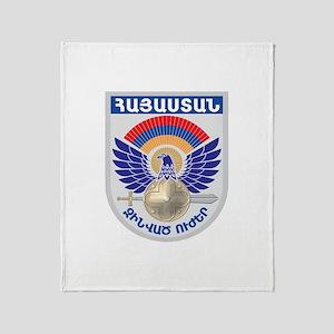 Armenian Military Seal Throw Blanket
