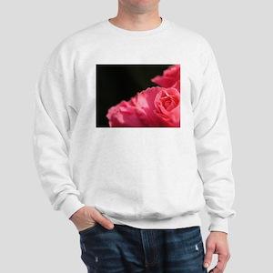 Pink on black Sweatshirt
