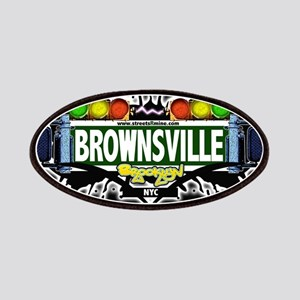 Brownsville Brooklyn NYC (Black) Patches
