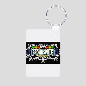 Brownsville Brooklyn NYC (Black) Aluminum Photo Ke