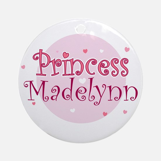 Madelynn Ornament (Round)