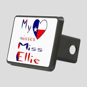 Heart Misses Miss Ellie Rectangular Hitch Cover