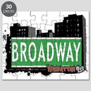 BROADWAY, MANHATTAN, NYC Puzzle