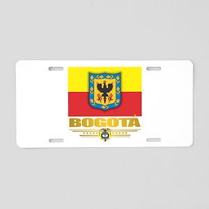Bogota Pride Aluminum License Plate