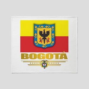 Bogota Pride Throw Blanket