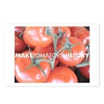 Make Tomatoes History Postcards (Package of