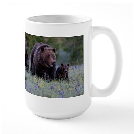 Grizzly Bear# 399 Triplets, June 2013 Mug