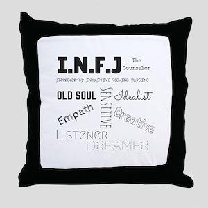 INFJ Throw Pillow