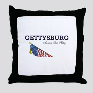 ABH Gettysburg Throw Pillow