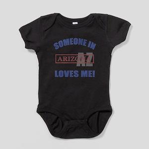 Someone In Arizona Loves Me Baby Bodysuit