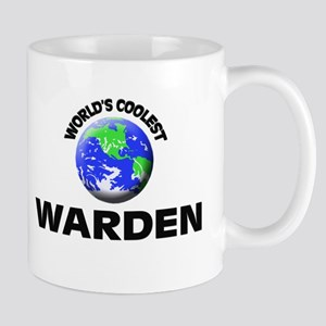 World's Coolest Warden Mug