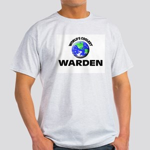 World's Coolest Warden T-Shirt