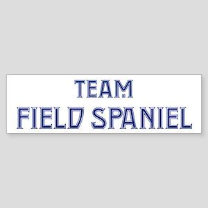 Team Field Spaniel Bumper Sticker
