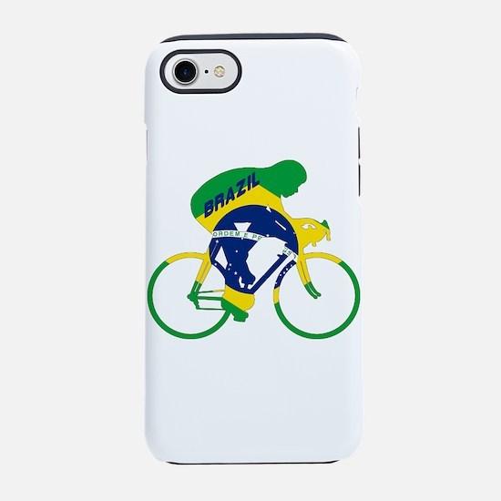 Brazil Cycling iPhone 7 Tough Case