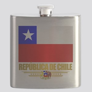 Flag of Chile Flask