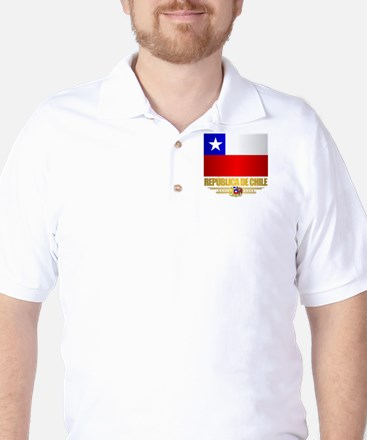 Flag of Chile Golf Shirt