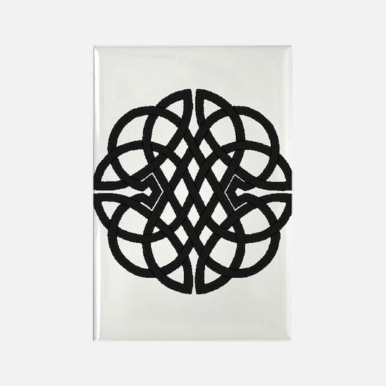 Celtic Knot 27 Rectangle Magnet