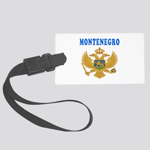 Montenegro Coat Of Arms Designs Large Luggage Tag