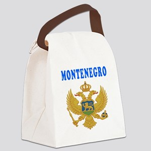 Montenegro Coat Of Arms Designs Canvas Lunch Bag