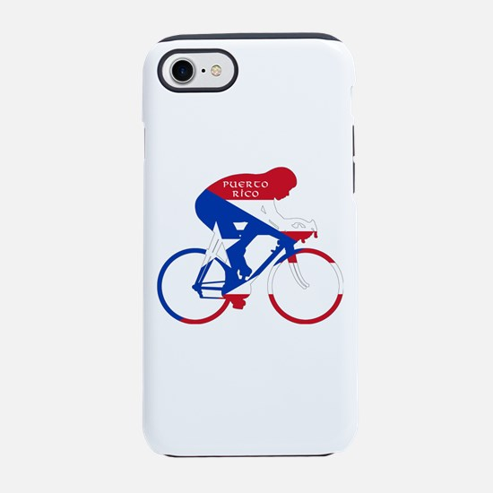 Puerto Rico Cycling iPhone 7 Tough Case