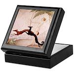 Art Deco Borzoi Diana Keepsake Box
