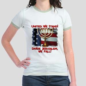 United We Stand! Jr. Ringer T-Shirt