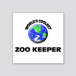 World's Coolest Zoo Keeper Sticker