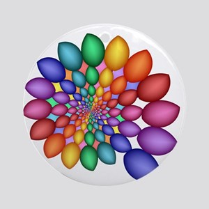 Pastel sky Ornament (Round)