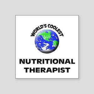 World's Coolest Nutritional Therapist Sticker