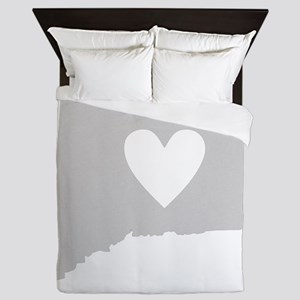Heart Connecticut Queen Duvet