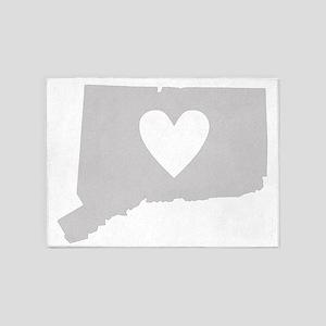 Heart Connecticut 5'x7'Area Rug