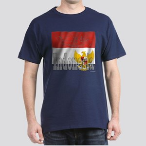 Silky Flag of Indonesia Dark T-Shirt