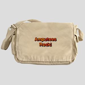 Amputees Rock! Messenger Bag